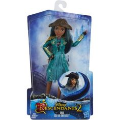 Disney Descendants 2 Uma Isle of the Lost Doll - Poseable Figure Dressed to Impress ¨C Recreate Epic Adventures with Descendants Dolls Fashionable Villaness-in-Training with Fashions and Accessories, The Descendants, Disney Descendants Dolls, Disney Dolls, Barbie Dolls, Princess Toys, Disney Princess, Pixar, Isle Of The Lost, Zeina