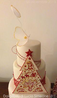 Natale - by luciasimeone @ CakesDecor.com - cake decorating website