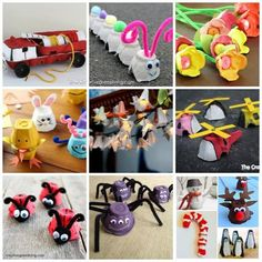 újrahasznosítás Pritt tojástartó festés Egg Box Craft, Preschool Crafts, Techno, Recycling, Petra, Projects, Blog, Diy, Manualidades