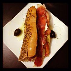 Sándwich Capressa