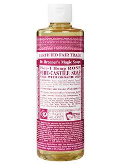 Dr Bronner Liquid Soap Rose 473ml | My new favorite body wash