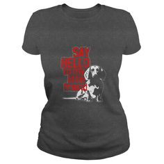 Dachshund Tee - Say Hello To My Little Friend Shirt  #gift #ideas #Popular #Everything #Videos #Shop #Animals #pets #Architecture #Art #Cars #motorcycles #Celebrities #DIY #crafts #Design #Education #Entertainment #Food #drink #Gardening #Geek #Hair #beauty #Health #fitness #History #Holidays #events #Home decor #Humor #Illustrations #posters #Kids #parenting #Men #Outdoors #Photography #Products #Quotes #Science #nature #Sports #Tattoos #Technology #Travel #Weddings #Women