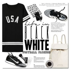 """GAME ON !"" by dian-lado ❤ liked on Polyvore featuring Vera Bradley, Nuuna, Casetify, Bunn, Gucci, NARS Cosmetics, H&M, football, fallstyle and footballfashion"