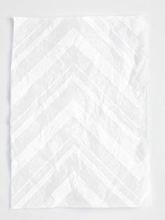 graphic design | paper | white on white