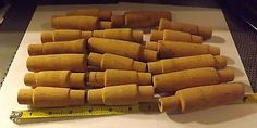 Reel Seats Cork and Handles 62150: Lot Of 19 Vintage Cork Rod Grips Handles Fishing Rod Building Repair BUY IT NOW ONLY: $38.95