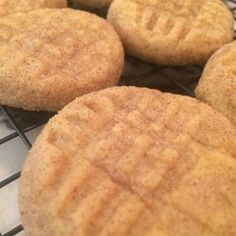 Pumpkin Snickerdoodles - Allrecipes.com. Turned out well! More of a bread than cookie texture, but still good.