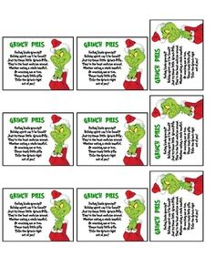 How The Grinch Stole Christmas Grinch Pills