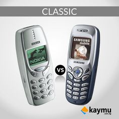 Classic battle of the day! Nokia or Samsung? Comment below