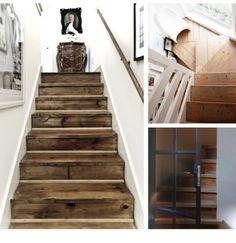 Houten trap in oude glorie herstellen Interieur design by nicole & fleur