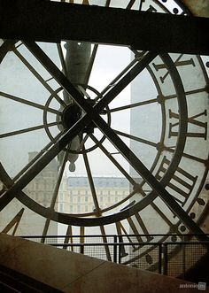 Musée d'Orsay clock, Paris ~The Time Keeper's Key~ Sign O' The Times, Paris Images, Paris Travel, City Lights, Paris France, Paris Paris, Architecture Details, Amazing Photography, Portal