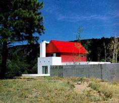 Sottsass Associati.  Wolf residence, Ridgway, Colorado,1989