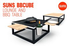 SUNS BBCUBE is redefining the act of barbecuing. SUNS Collection 2015.