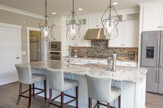 Kitchen Backsplash: Vitra Art Fusion Mosaic by Florida Tile Color: Rock J. Mosaic Rocks, Flooring Store, Vinyl Tiles, Parade Of Homes, Color Tile, Kitchen Backsplash, Custom Homes, Evans, Ohio