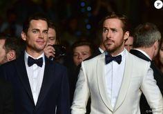 """Ryan Gosling, Matt Bomer - Montée des marches du film """"The Nice Guys"""" lors du 69ème Festival International du Film de Cannes. Le 15 mai 2016. © Giancarlo Gorassini/Bestimage"""