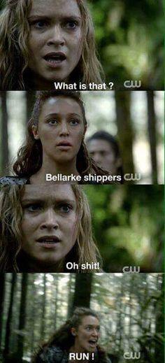 Aha it's so hard I'm not sure which I ship more Clexa or Bellarke