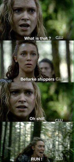Aha it's so hard I'm not sure which I ship more Clexa or Bellarke