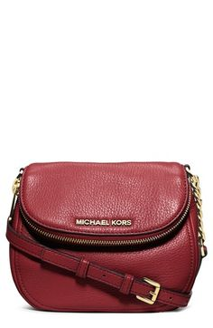 MICHAEL Michael Kors 'Bedford' Leather Crossbody available at #Nordstrom