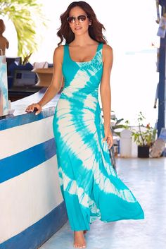 a30f1d58cbf0 With its sexy scoop-neck and ruched waist, this is a must-have maxi dress  that transitions from day to night