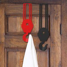 Crane Over Door Hooks - Set of 2