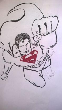 #Superman Superman fight against Captain Zod