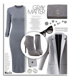 """""""Gray Matter"""" by ruska-10 ❤ liked on Polyvore featuring Prada, Proenza Schouler and By Terry"""