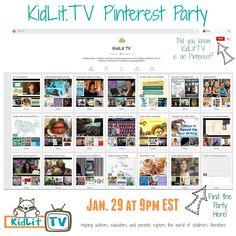 KidLitTV Pinterest p