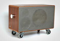 Tombox - repurposed loudspeakers