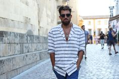 http://chicerman.com  billy-george:  I like that shirt  #streetstyleformen