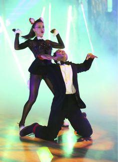 Karina & Corbin of Team Foxing Awesome  -  Dancing With the Stars  -  week 7  -  season 17  -  fall 2013