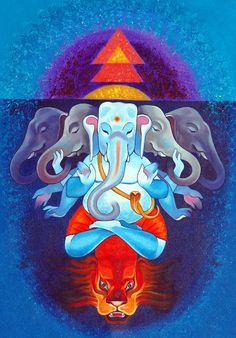 SWATAH | Acrylic on Canvas -Ganesha Series 1