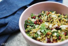 If you've cooked with Quinoa or Barley, chances are you have come across an old favourite, Freekeh! Team MNB put together a fresh spin on an ancient grain..