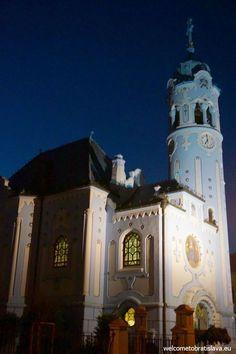 BRATISLAVA BY NIGHT FREE TOUR - WelcomeToBratislava | WelcomeToBratislava - The Blue Church