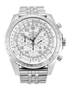 Pre-owned Limited Edition Breitling Bentley Motors Gents Automatic watch. Stainless Steel Bracelet, Stainless Steel Case, Bentley Logo, Breitling Bentley, Bentley Motors, Breitling Watches, Limited Edition Watches, Automatic Watch, Le Mans