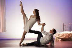 Xenia Goodwin and Thomas Lacey from Dance Academy
