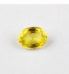 1 Piece Natural Yellow Sapphire Rare Normal Cut 5x7mm Oval Gemstone,Handmade Jewelry Making Gemstone,Genuine Sapphire