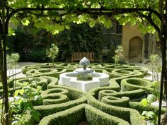 Knot garden on pinterest knots gardens and hedges for Tudor knot garden designs