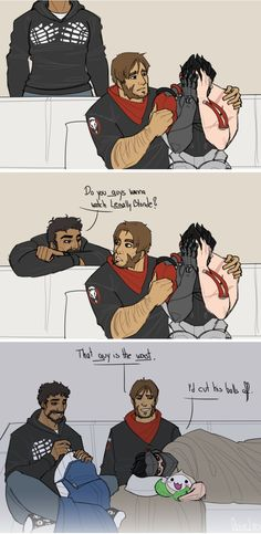 I like this because this is Blackwatch, the Overwatch Assassin.