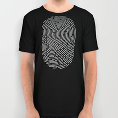 Fingerprint All Over Print Shirt by EARTh | Society6