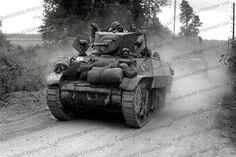 BHC 001033 Stuart Tanks 8th Kings Royal Irish Hussars