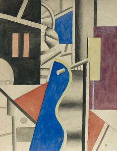 'Invention' (1918) by Fernand Léger