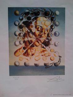 Salvador Dalí en todocoleccion: Galatea de las Esferas