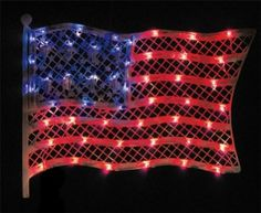 4th of july light up decorations