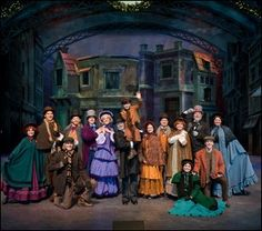 Silver Dollar City's grandest production show ever, A Dickens' Christmas Carol celebrates its 10th incredible year at Silver Dollar City! This original musical adaptation of the classic by Charles Dickens has become a family tradition. The inspiring story of redemption features a live band, a talented cast, astounding special effects, stunning Victorian scenery and period costuming.