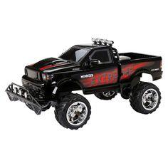 1:6 Radio Control Full Function 9.6v Monster Truck Pickup, Black