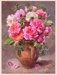 Shop :: Buy the beautiful flower paintings and prints of Anne Cotterill - published by Mill House Fine Art Publishing Ltd