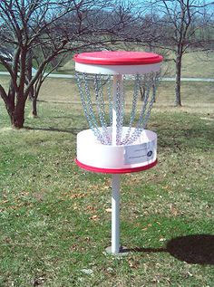 Picture of A Great Build-at-home Disc Golf Target (or a better use for 55-gal drums!)