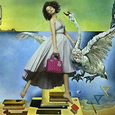Collage featuring Marion Cotillard by Eduardo Paixao
