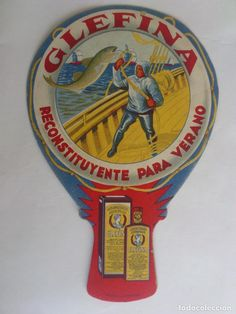 PAY PAY PUBLICIDAD FARMACIA GLEFINA - LASA, RECONSTITUYENTE PARA VERANO, MEDIDAS 22,5 X 15 CM (Coleccionismo - Carteles Pequeño Formato) Paper Fans, Advertising, Sign, Poster, Minimal Poster, Dollhouse Kits, Advertising Poster, Grandparent, Vintage Posters