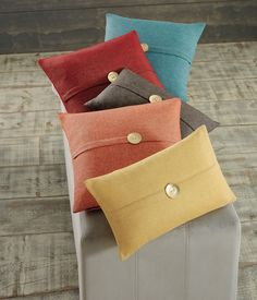 Button Accented Decorative Pillows Steinmart