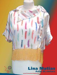 Feito pela Sandra Ferreira nas aulas de costura Lina Matias